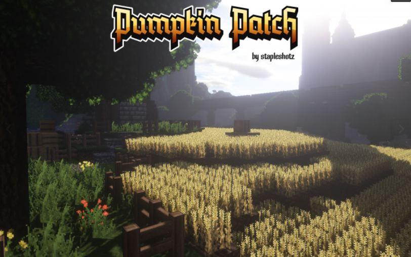 minecraft texture pack pumpkin patch 32×32 champs de blé
