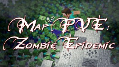 minecraft map pve zombie epidemic