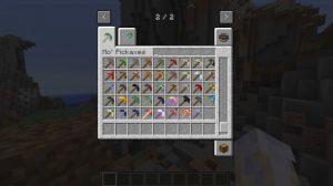 minecraft mod mo pickaxes nouvelle pioche