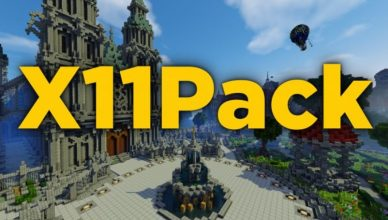 minecraft texture pack x11 pack