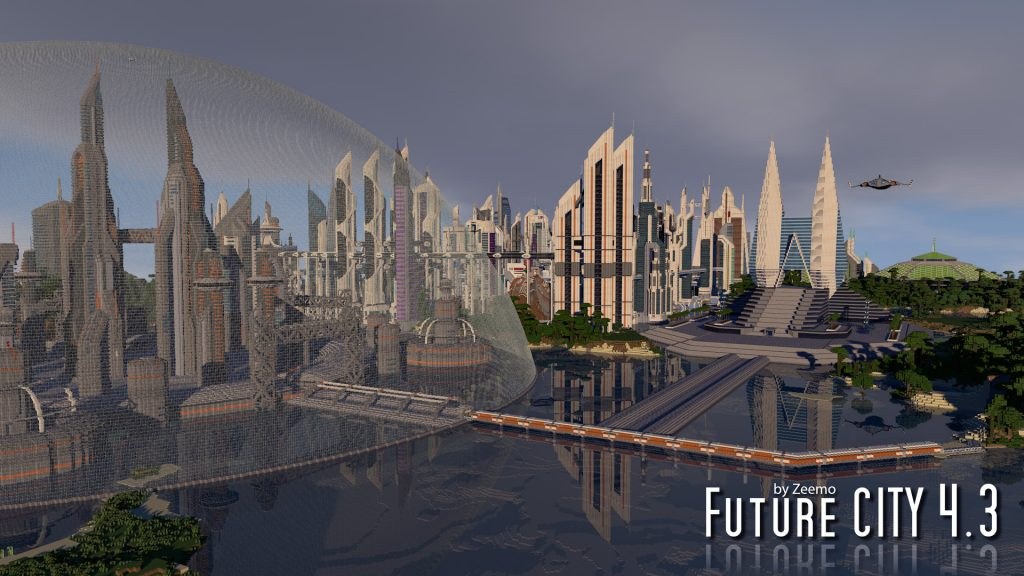 minecraft map ville Future CITY_4.3_03