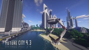 minecraft map ville Future CITY_4.3_07