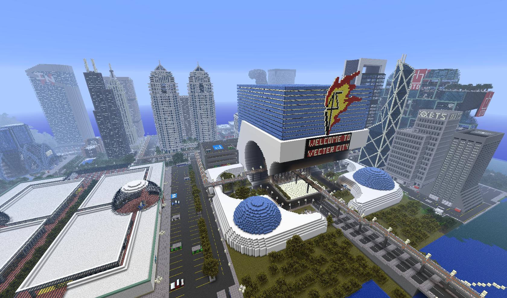 Map-ville-newcraft-vecter-city-minecraft-centre-ville