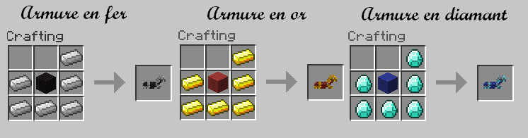 minecraft-mod-mob-mo-creatures-animaux-armure-fer-or-diamant
