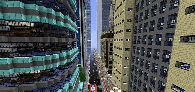 minecraft-texture-pack-ville-newcraft-vecter-city-rue