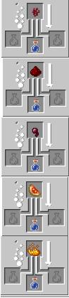 Crafting potion base minecraft