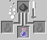 crafting potion lenteur splash minecraft