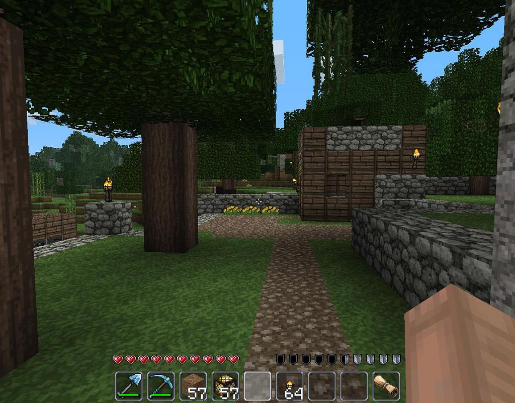 texture-pack-16x16-john-smith-minecraft-nature-village