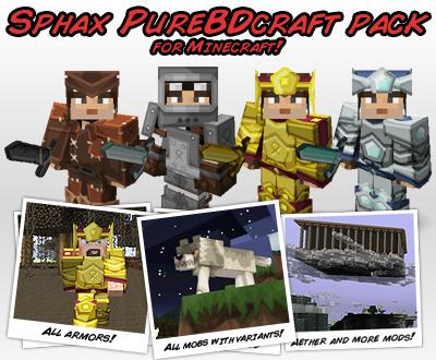 texture pack sphax purebdcraft