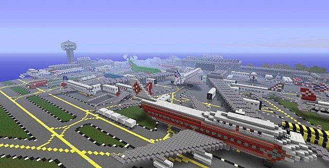 texture-pack-ville-newcraft-vecter-city-aeroport-minecraft