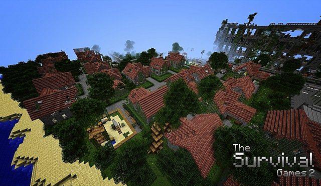 Map-minecraft-aventure-survival-the-survival-games-2-village