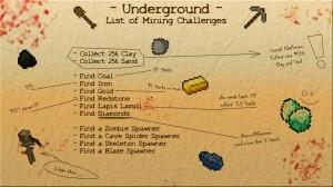 minecraft-map-survival-underground-liste-minage-challenge
