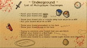 minecraft-map-survival-underground-liste-multi-challenge