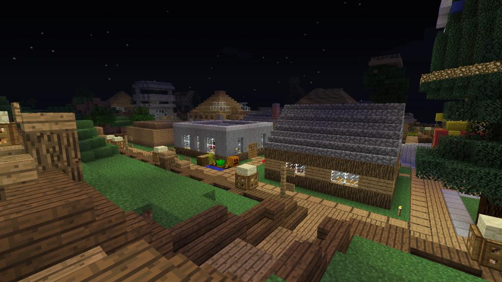 minecraft-serveur-shadowcraft-village