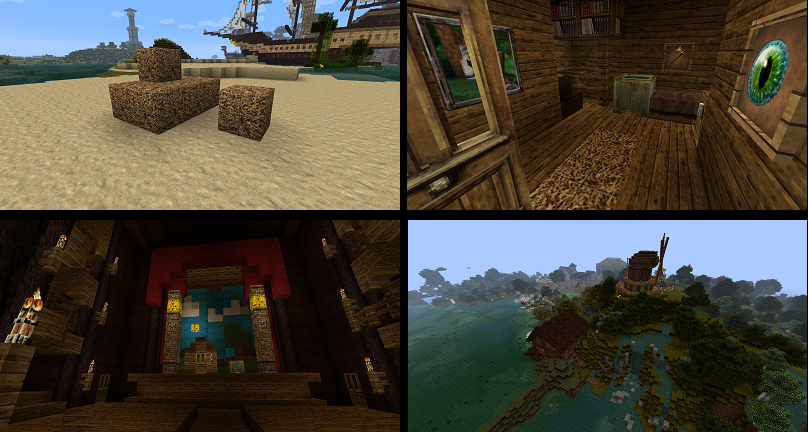 minecraft-texture-pack-64x64-hersommer-medieval-bateau