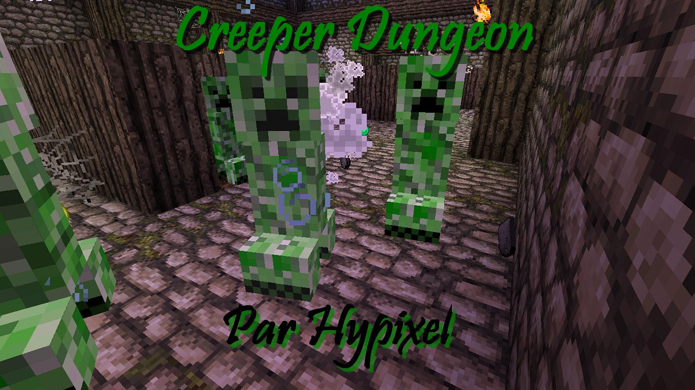 Minecraft-map-aventure-creeper-dungeon