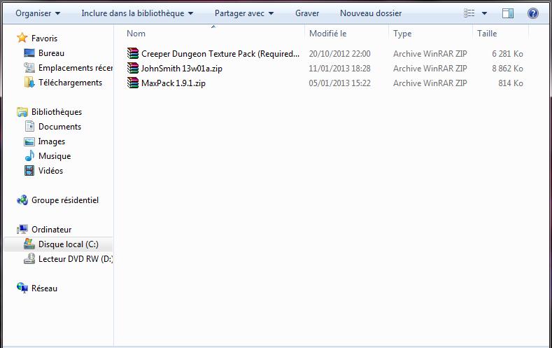 minecraft-installer-texture-pack-fichier