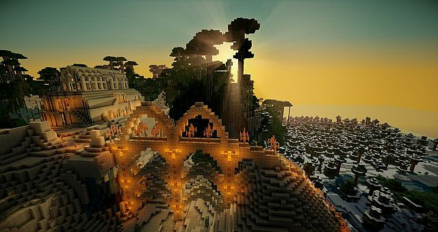 minecraft-texture-pack-realiste-super-realism-couher-soleil