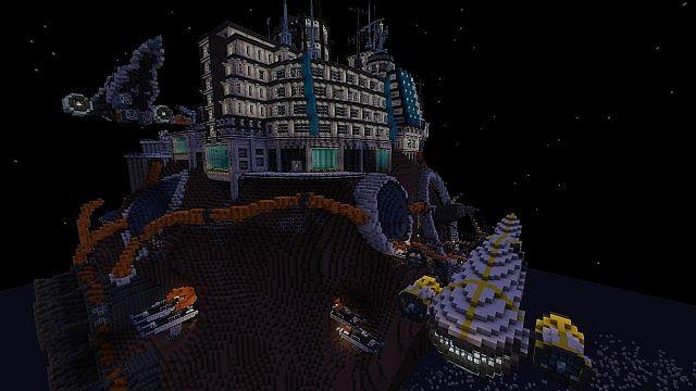 minecraft-map-ville-futuriste-grand-palladium-asteroide