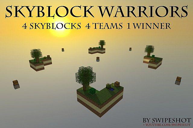 minecraft-map-pvp-skyblock-warrior