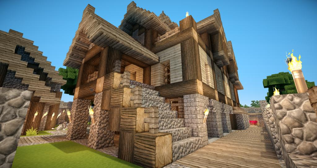 minecraft-ressource-pack-chroma-hills-maison