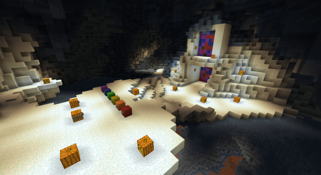 minecraft-map-puzzle-golem-city-puzzle