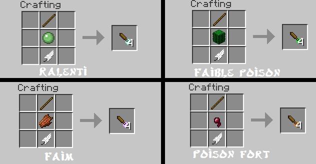 minecraft-mod-arme-balkon's weapon-mod-flechette
