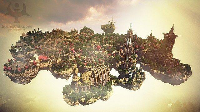 Map Ville Médiévale Fantaisie Minecraft Aventurecom