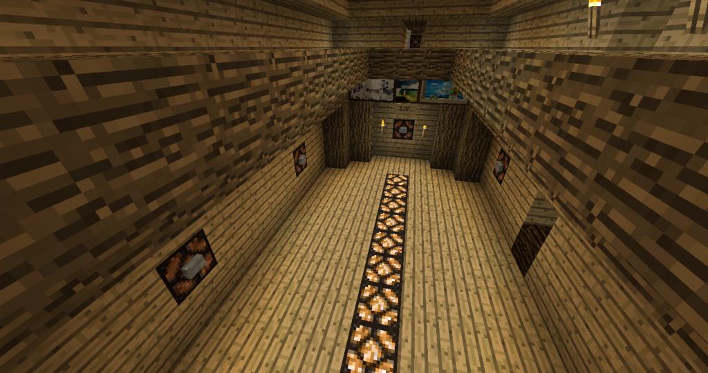 minecraft-map-jeu-Cluecraft-salle-debut-jeu