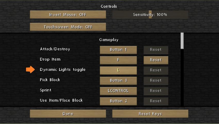 minecraft-mod-dynamic-lights-controls