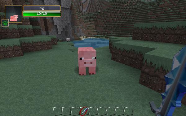 minecraft-mod-Damage Indicators-pig