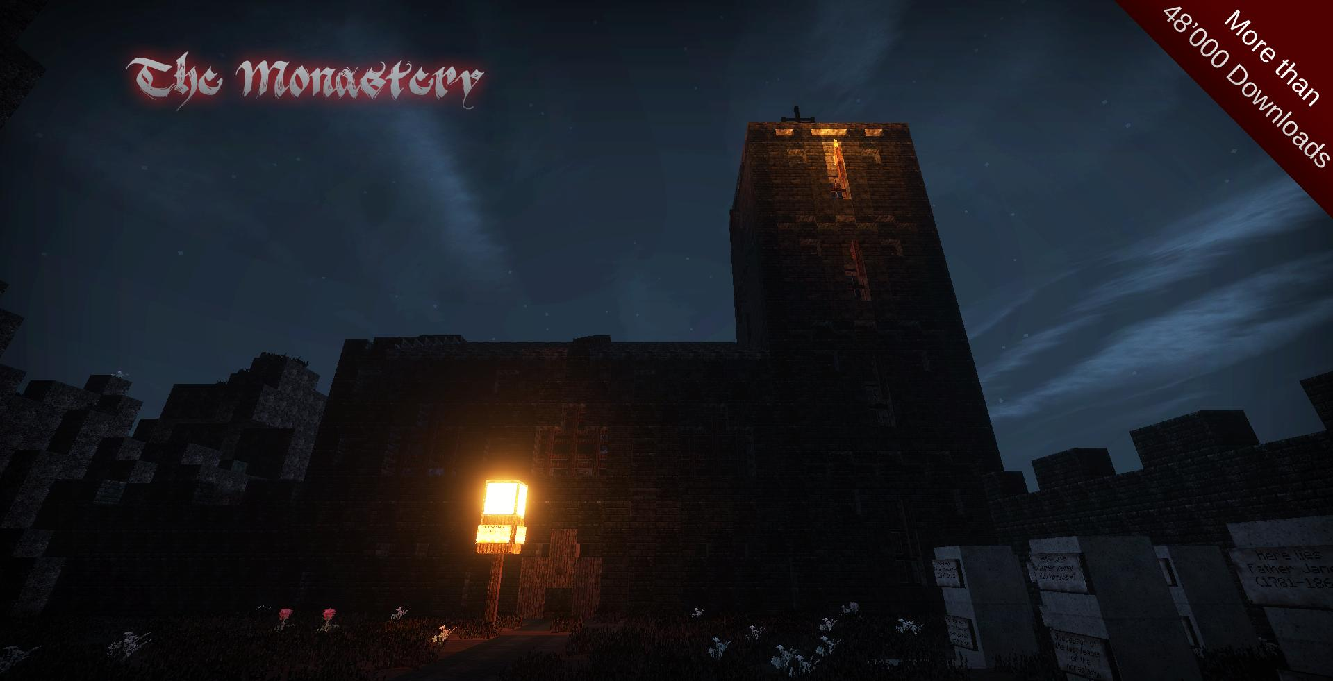 minecraft-map-horreur-the-monastery