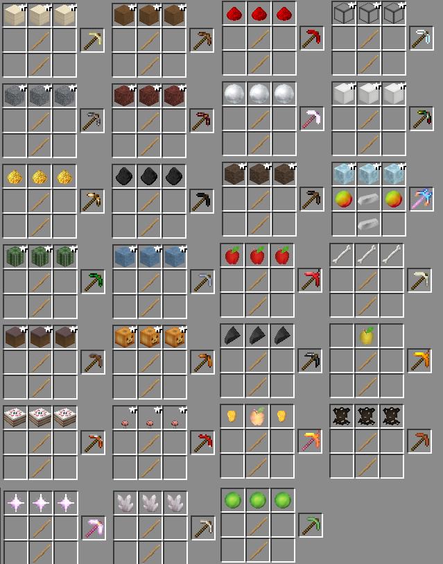 minecraft-mod-mo-pickaxes-craft-pioche