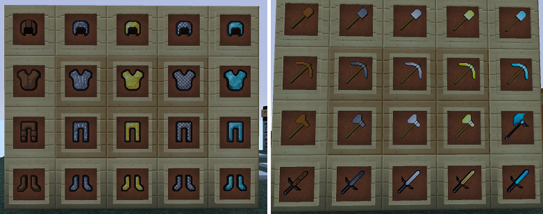 minecraft-resource-pack-red-pack-v2-armure-outils