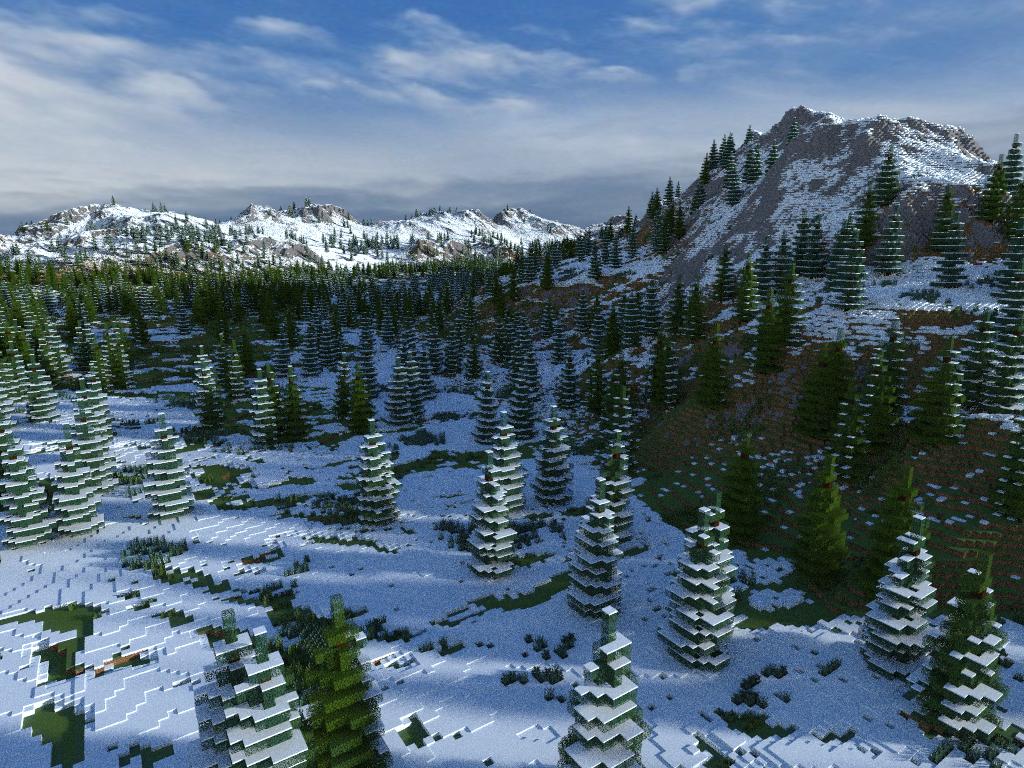 minecraft-aventure-map-speciale-noel-winter-lands