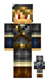 1.Minecraft skin link noir