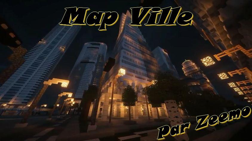 minecraft map ville zeemo  nuit