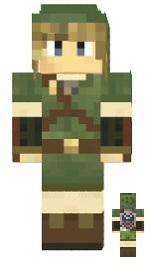 5.Minecraft skin link skyward sword