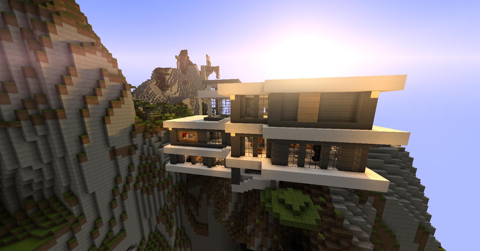 Maison minecraft for Minecraft modernes haus download 1 7 2