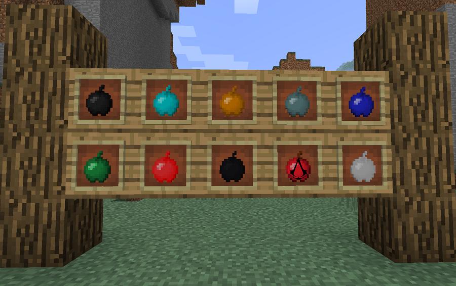 minecraft mod gameplay power apple 10 nouvelles pommes