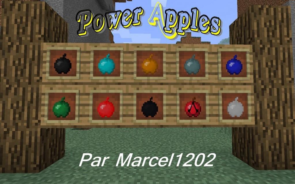 minecraft mod gameplay power apples