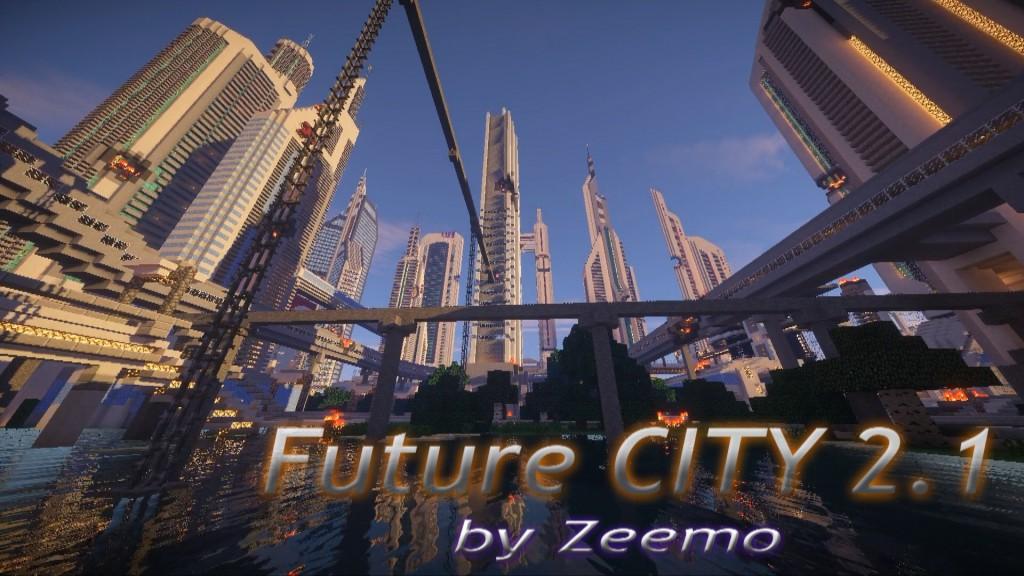 minecraft map ville future city
