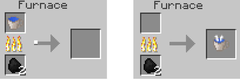 minecraft mod flower tea eau chaude