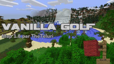 minecraft map vanilla golf