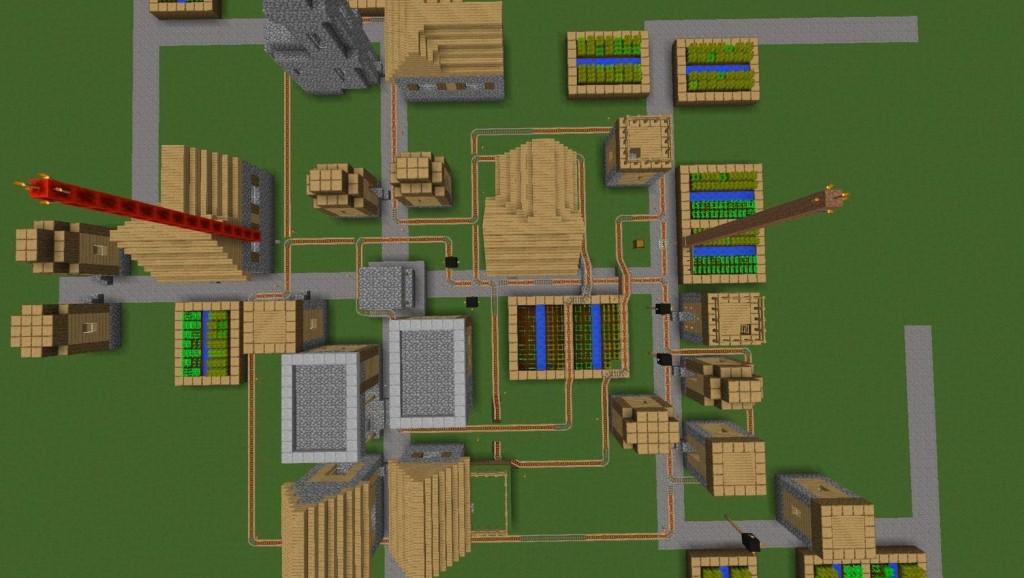 minecraft map entraînement tir à l'arc
