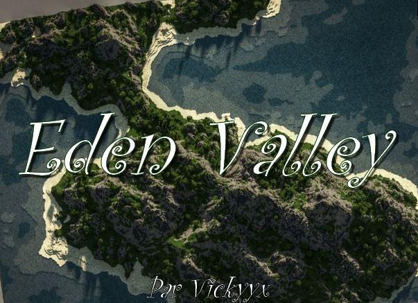 minecraft map customisée eden valley