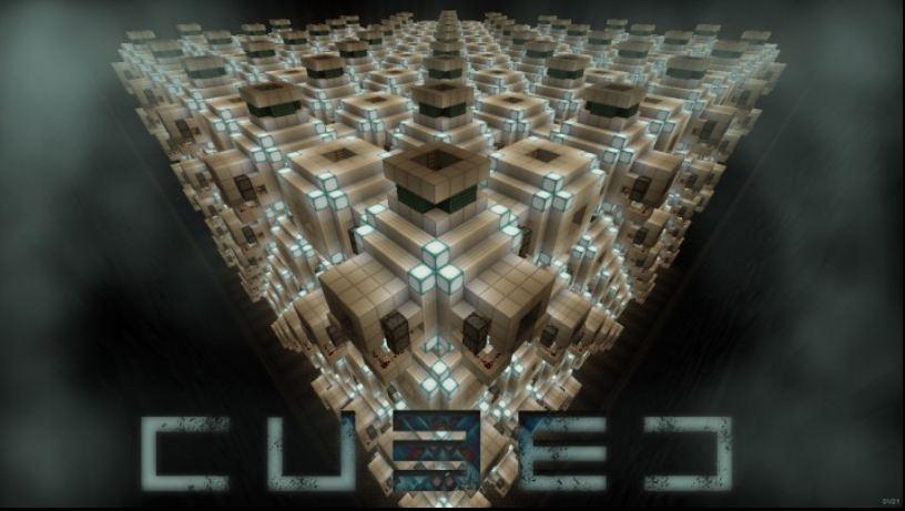 minecraft map survival horror cubed