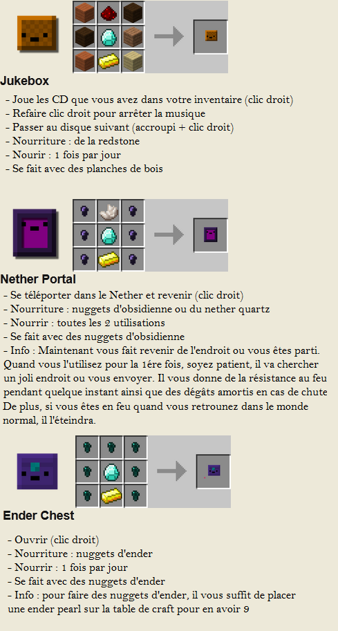 minecraft mod inventory pets utile craft 2