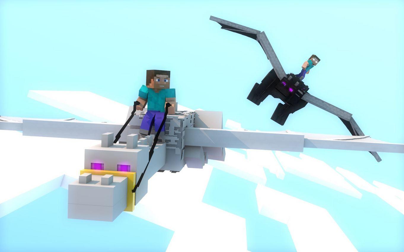 Top 10 Fond D 233 Cran Minecraft Sp 233 Ciale Ender Dragon