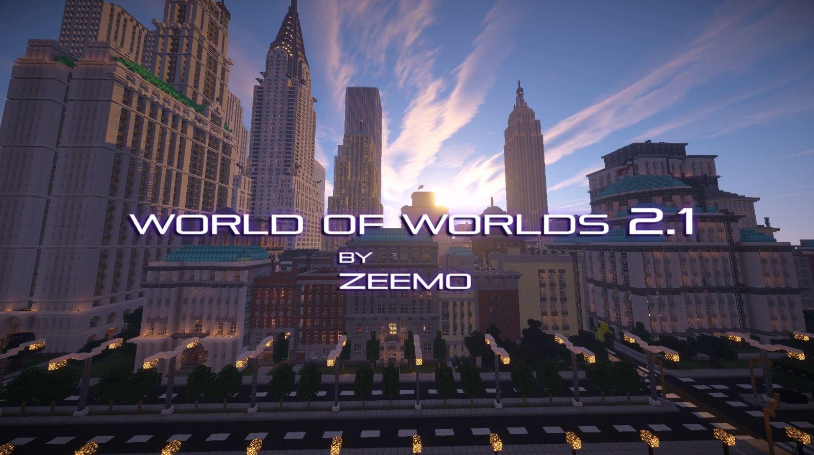 minecraft map ville world of worlds